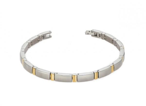 Boccia Titanium Armband Dames 0371-02 Bicolor