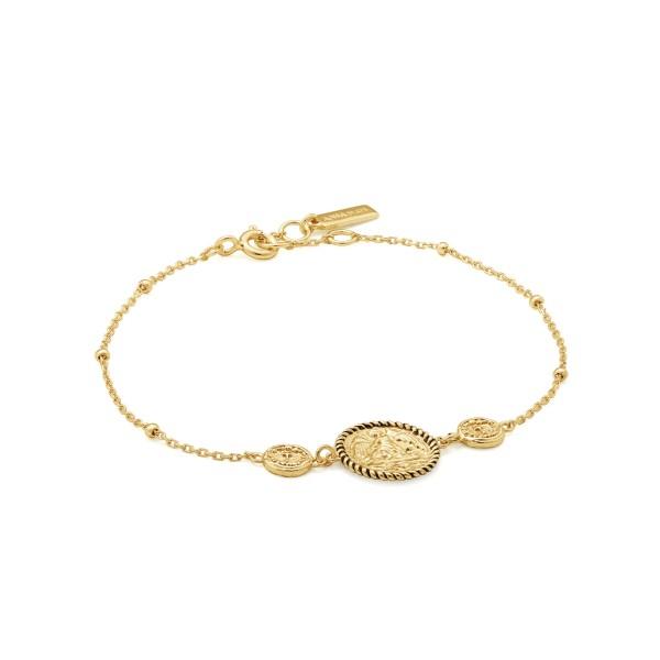 Ania Haie Armband B020-01G Goudkleurig