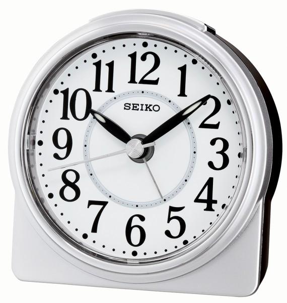 Seiko wekker QHE137S - Witte kunststof kast