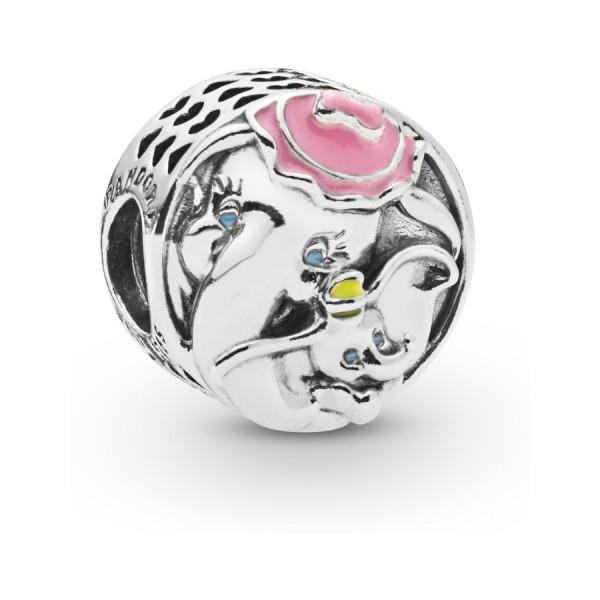 Pandora Disney Dumbo Bedel Dames 797850ENMX Zilver Emaille