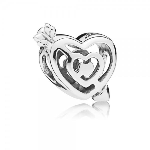 Pandora Path to Love Bedel 797814 Zilver