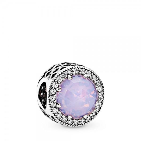 Pandora Moments Radiant Hearts Bedel Dames 791725NOP Zilver Zirkonia Kristal