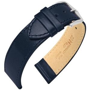 Hirsch horlogeband - Osiris Blauw 18mm