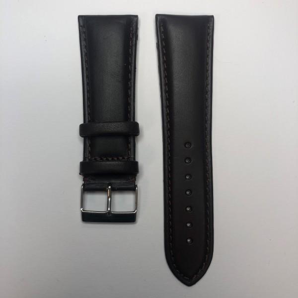 Remerko Horlogeband - Donker Bruin - 26mm