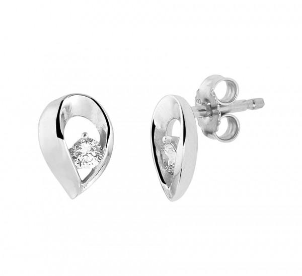 Zilveren Druppel Oorbellen - 1329873
