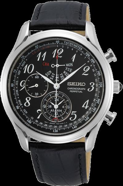 Seiko herenhorloge SPC255P1 Perpetual Chronograaf