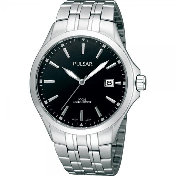 Pulsar Herenhorloge PS9089X1 - datum zwart