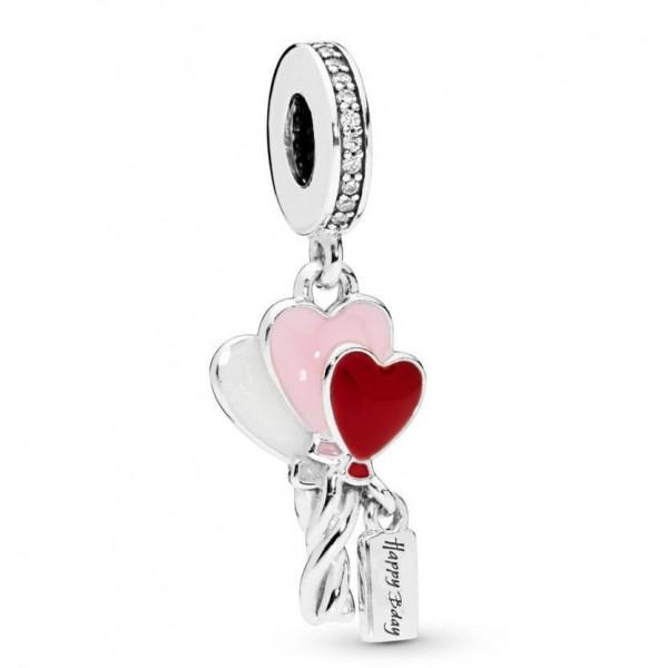Pandora Moments Hangbedel Heart Balloons 798076CZ