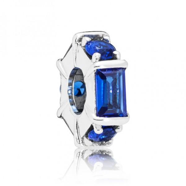 Pandora Spacer Bedel Ice Sculpture 797529NSBL Zilver Kristal