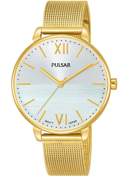 Pulsar Dameshorloge Quartz Analoog PH8446X1 Goudkleurig Zilverkleurig