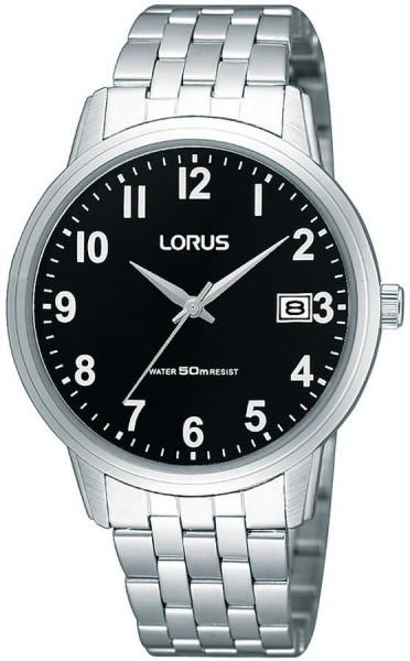 Lorus Herenhorloge Quartz Analoog RXH33JX9 Zilverkleurig Zwart