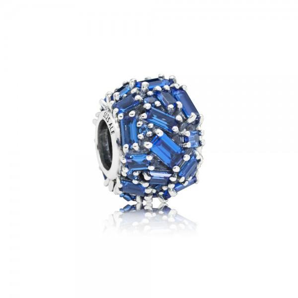 Pandora Bedel Chiseled Elegance 797746NSBL Zilver Kristal