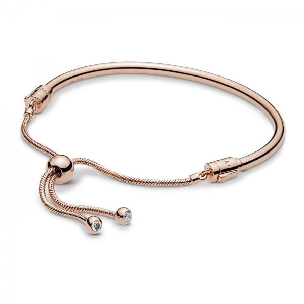 Pandora Moments Armband 587953CZ-2 Rosekleurig Zilver
