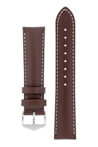 Hirsch - Horlogeband TROOPER 22mm Bruin