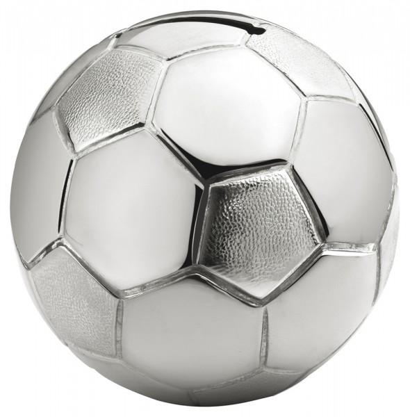 Zilverstad Spaarpot Voetbal Verzilverd