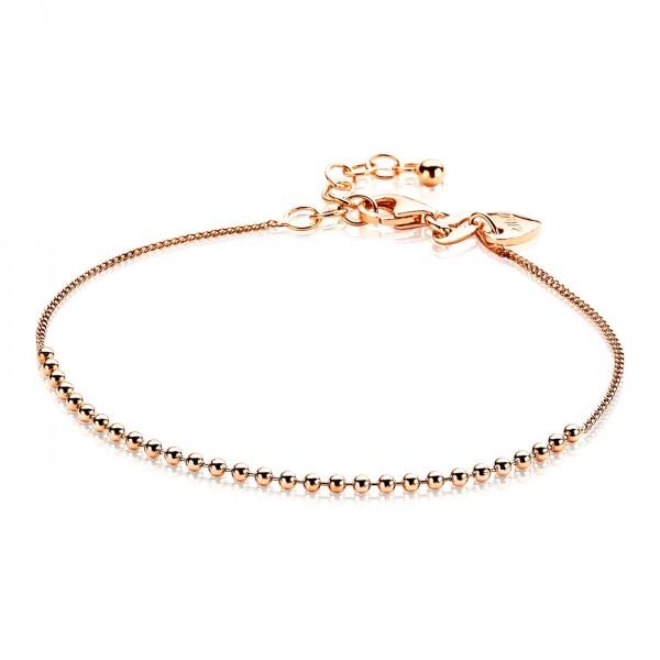 Zinzi Armband Dames Gourmet ZIA1657R Rosékleurig Zilver