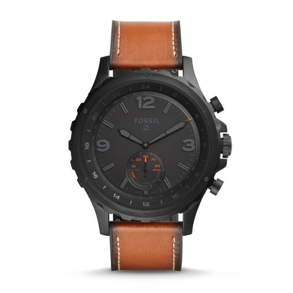 Fossil Hybrid Smartwatch Nate FTW1114 Darkbrown