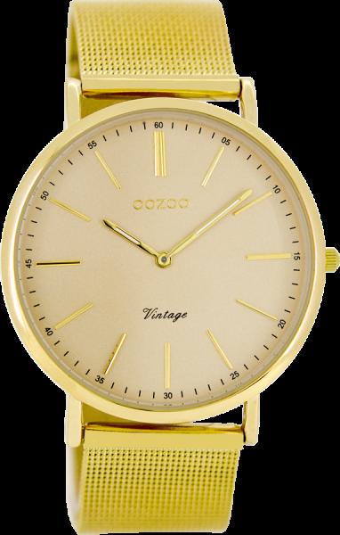 OOZOO Vintage Goud Horloge 40mm C8163