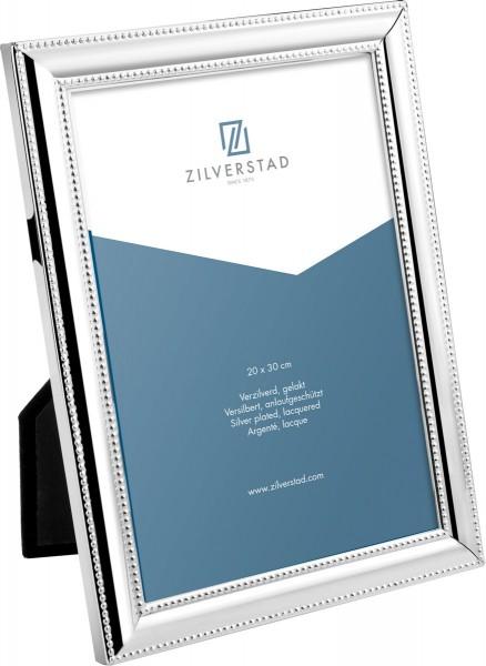 Zilverstad Fotolijst Parelrand 20x30cm - verzilverd