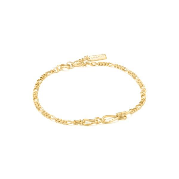 Ania Haie - Figaro Chain Armband B021-03G Goudkleurig