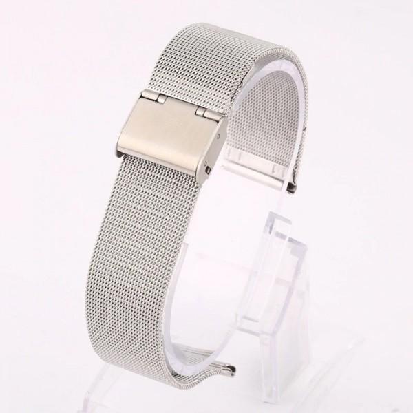 Remerko - horlogeband staal Mesh - Milanees 20mm (fijn)
