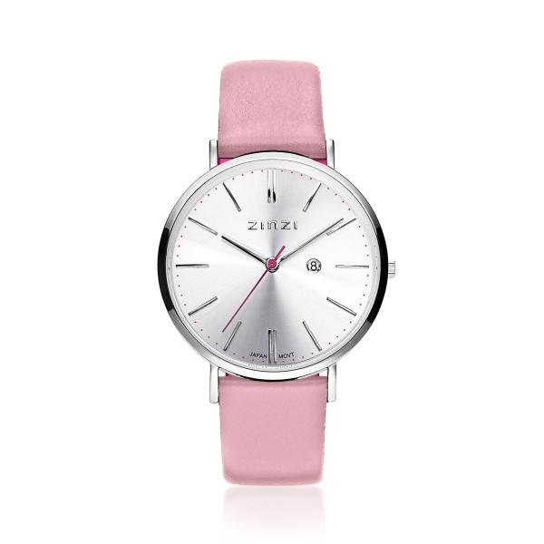 Zinzi Roze Zilver Horloge 38 mm ZIW402R