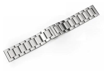 Remerko horlogeband edelstaal 22mm mat