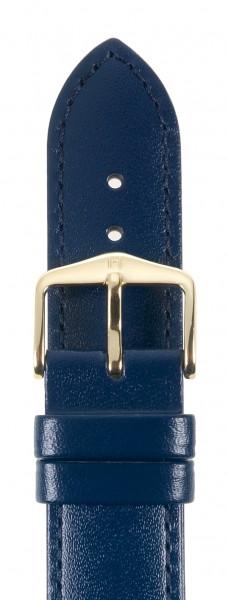 Hirsch horlogeband Corse Blauw 18mm