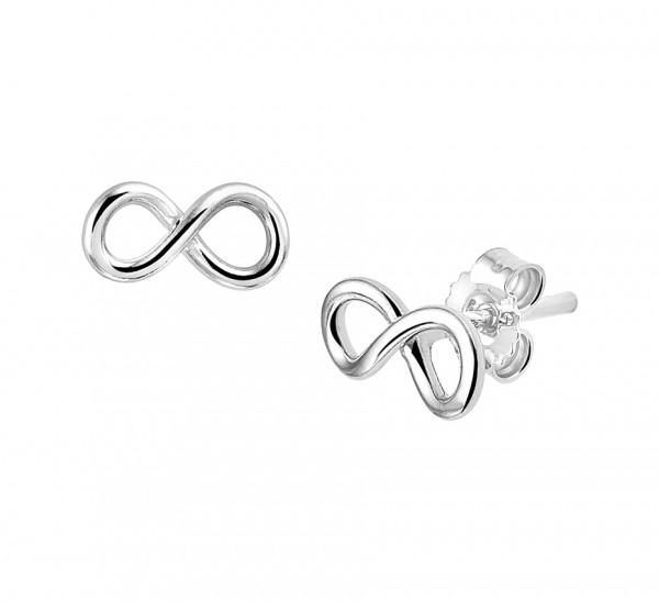 Zilveren - Endless Oorbellen - 1319797