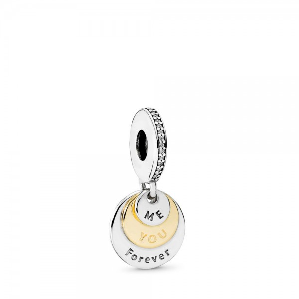 Pandora Hangbedel Me and You Forever 791979CZ