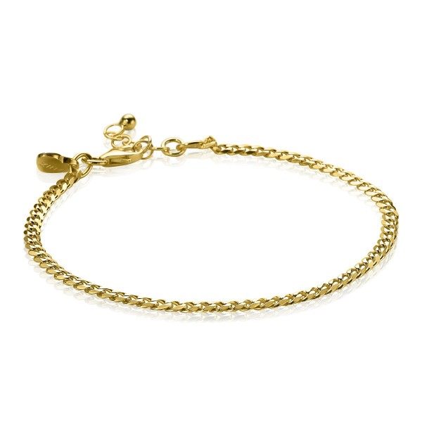 Zinzi Armband Gourmetschakel ZIA1418G