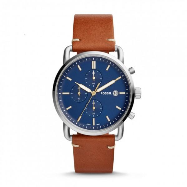 Fossil Bruin Zilver Horloge 42 mm FS5401