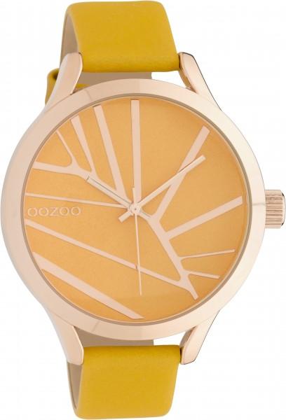 OOZOO Horloge Okergeel C10465