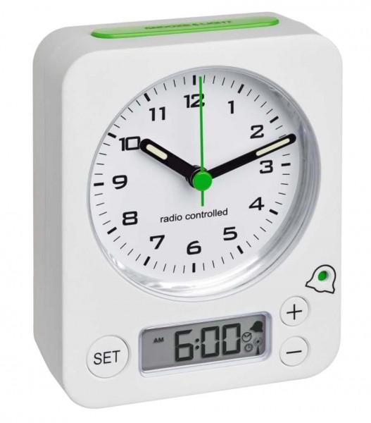 TFA Dostmann Radio Controlled Wekker 60.1511.02.04 Digitaal Analoog
