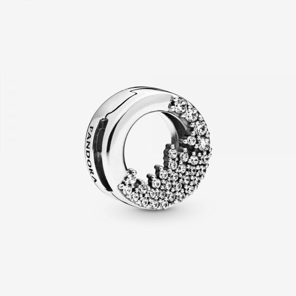 Pandora bedel 798475C01 Sprankelende IJspegels - Reflexion