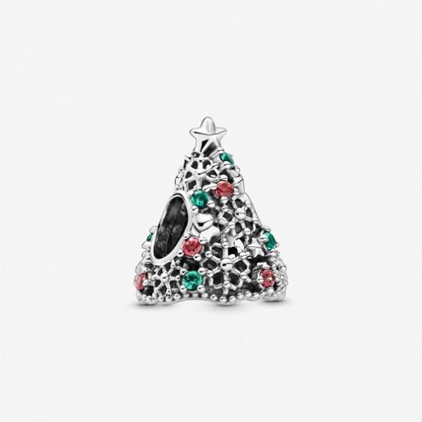 Pandora - Glitter Christmas Tree Bedel - 799226C01